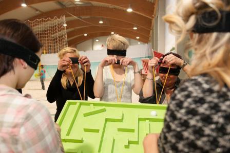 Blind Labyrinth Firmenevent Berlin