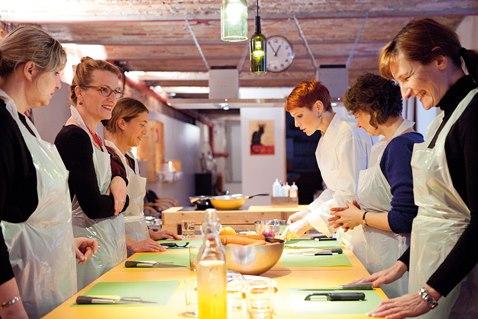 Kochevent in Berlin