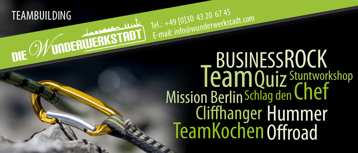 Permalink auf:Teambuilding Berlin für Firmen