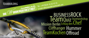 teambuilding events berlin
