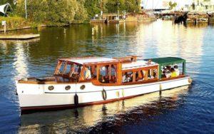 Boot für Teamevent