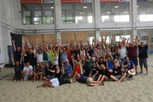 Schlag den Chef am Beach_Teamchallenge