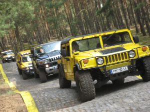 Teamevent Berlin Outdoor Hummer Offroad