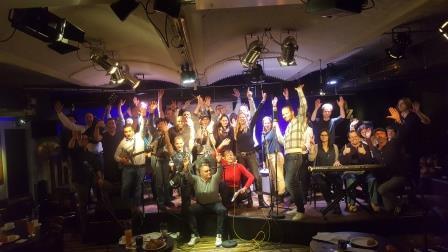 Teamevent mit Musik Business Rock