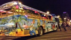 Betriebsausflug im Partybus